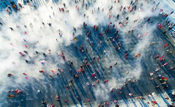 Drone'larla ile Çekilmiş En İyi 10 Resim