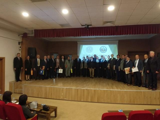Kaynarca'da İş Sağlığı ve Güvenliği Sertifika Töreni