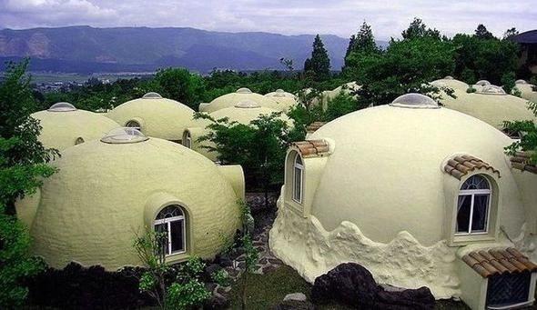Bu evlerde yaşıyorlar!