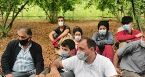 Vali Çetin Oktay Kaldırım Kocaali İlçesini Ziyaret Etti