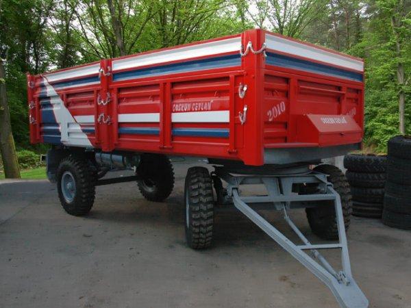 COŞKUN saman konteyneri traktör römorku imalatı