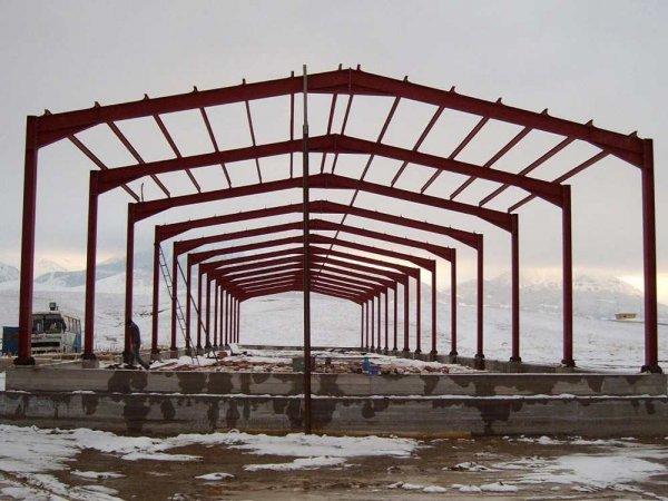 FEMA YAPI; Konya çelik oto park yapımı, çoklu otop