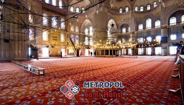 Ayasofya Camii'nin halısı Manisa Demirci'de şekil alıyor