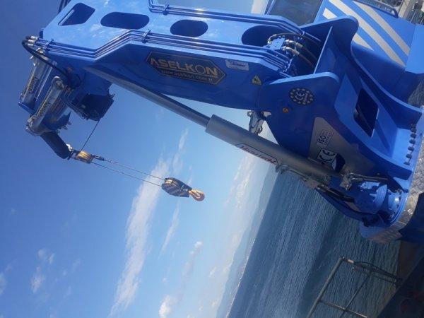 ASELKON marine crane  ship crane port crane manufa