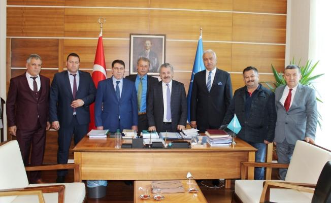 Ankara'da bir takım ziyarette bulundular