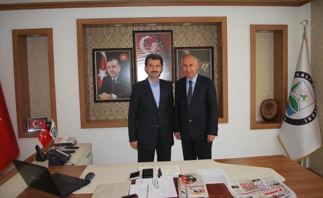 İŞKUR`dan Başkan Acar`a Ziyaret