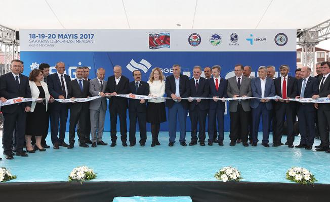 Şehrin en büyük istihdam fuarı SAGİF açıldı