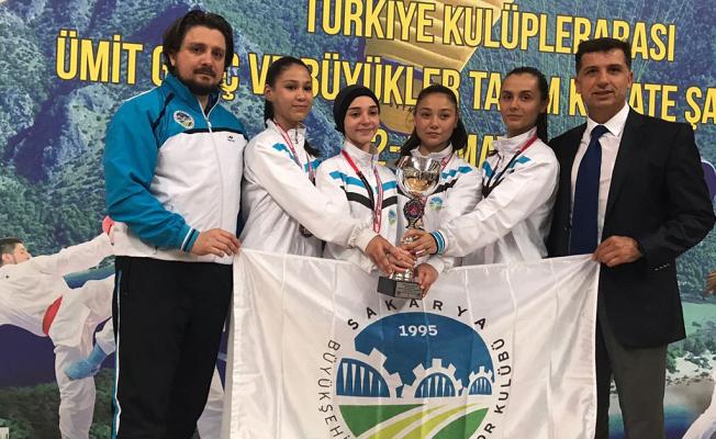 Ümit Genç Kızlar Türkiye Şampiyonu