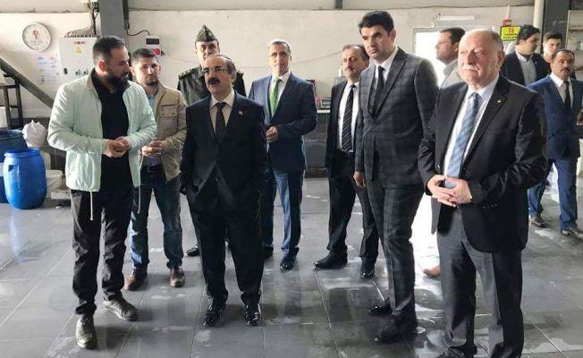 Vali Hüseyin Avni Coş, Koçkar'ı ziyaret etti