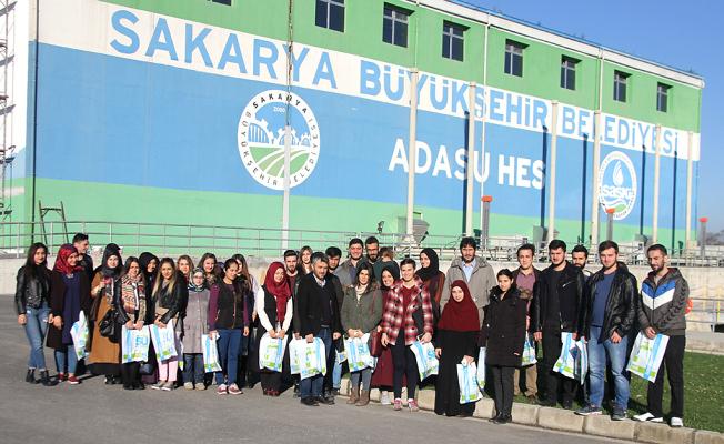 Binlerce öğrenci SASKİ'de