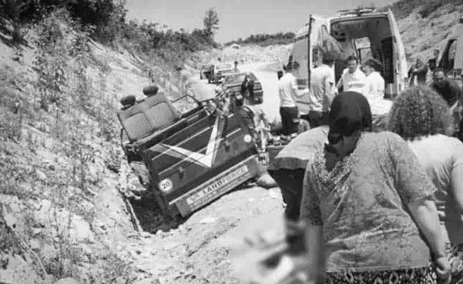 Kocaali'de patpat kazası 2 Ölü 4 Yaralı