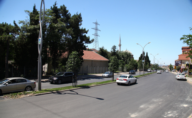 Orhangazi Caddesi asfaltla buluştu