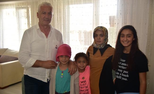 Başkan İspiroğlu, 15 Temmuz Şehidinin Eşini Ziyaret Etti