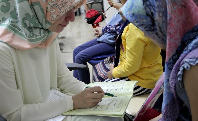Bin 750 öğrenci Kur'an öğreniyor