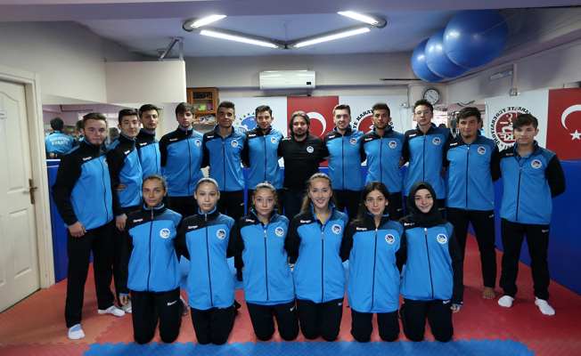 Büyükşehir Karate Şampiyonasına hazır
