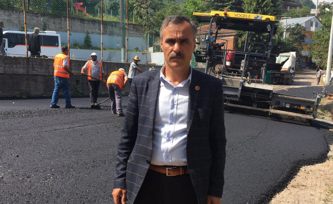 Dikmen'de sıcak asfalt memnuniyeti
