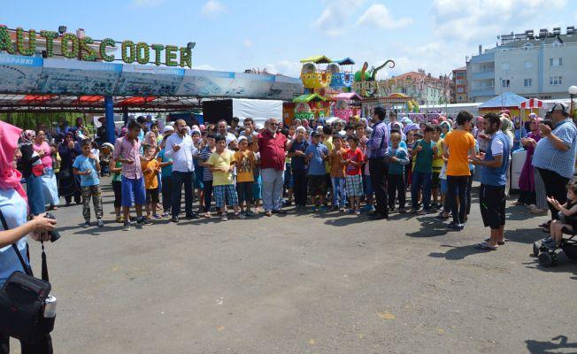 Efsane Muhtar Öğrencileri Luna Parkta Doyasıya eğlendirdi