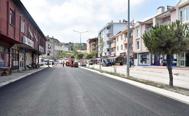 Karasu Vatan Caddesi yeni yüzüne kavuşuyor