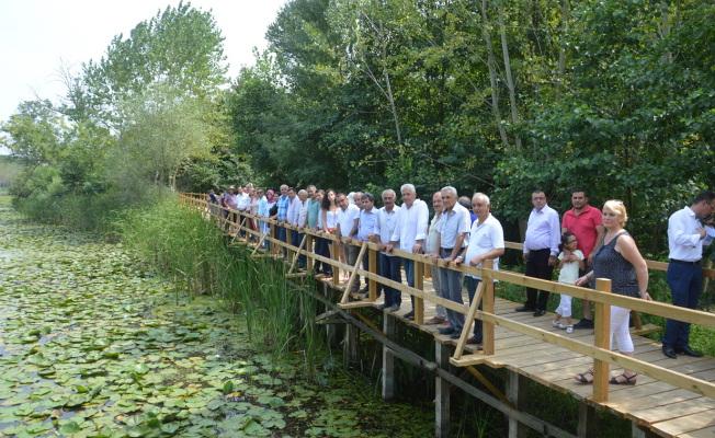 Acarlar Longozu Bir Doğa Senfonisi Oluyor Projesi Tamamlandı
