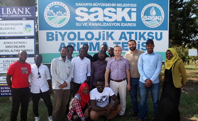 Afrokarya'lılar SASKİ tesislerinde