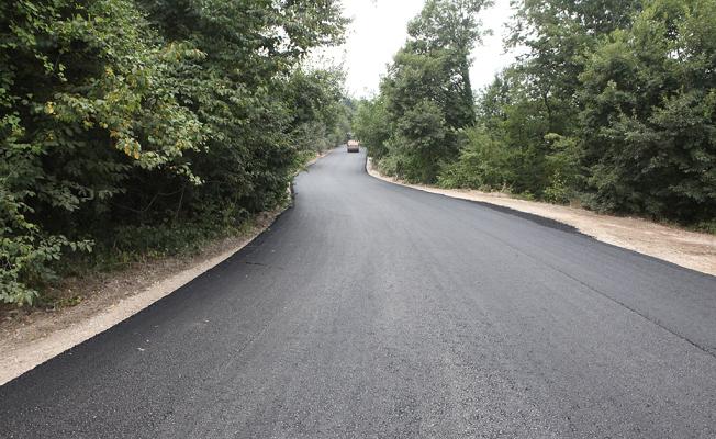 Hendek Kızanlık sıcak asfaltla buluştu
