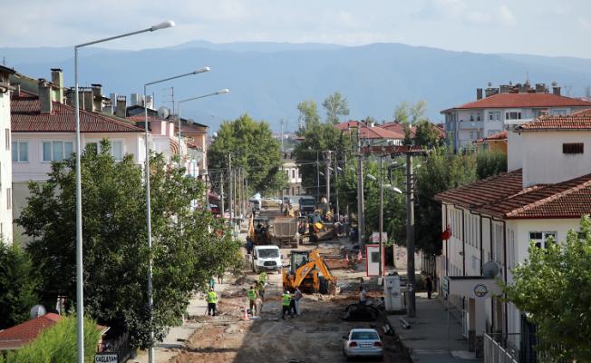 Serdivan'ın tüm içmesuyu altyapısı yenileniyor