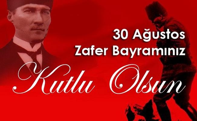 Vali İrfan BALKANLIOĞLU'nun 30 Ağustos Zafer Bayramı Kutlama Mesajı
