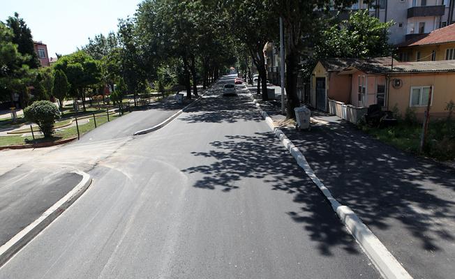 Yeğenler Caddesi yenilendi