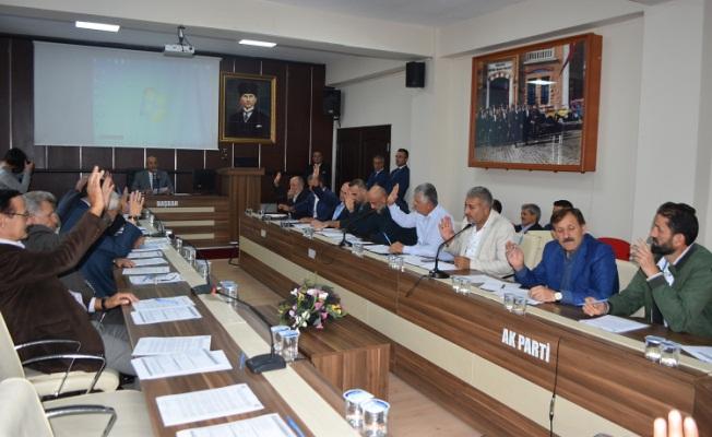 Karasu Belediyesi Ekim Ayı Meclis Toplantısı