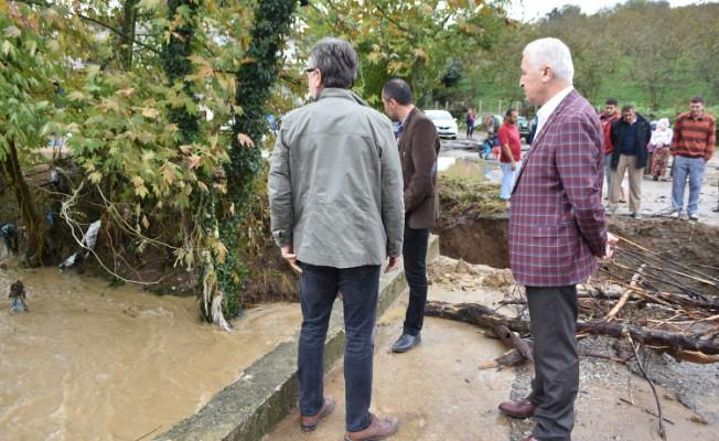 Karasu'da Yağmur Öncesi Tüm Önlemler Alındı