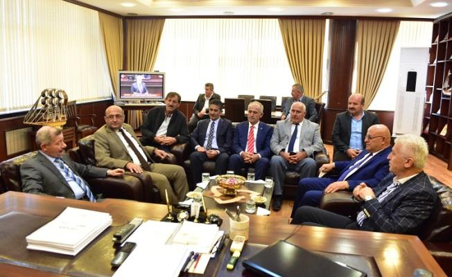 Kaymakam Mercan'dan Başkan İspiroğlu'na Ziyaret
