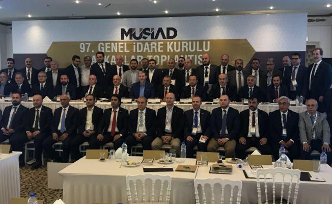 MÜSİAD Sakarya, Aksaray'da Gerçekleşen 97. GİK Toplantısına Katıldı