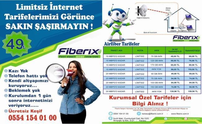 Karasu ve Kocaali' Fiber Internet Hizmeti