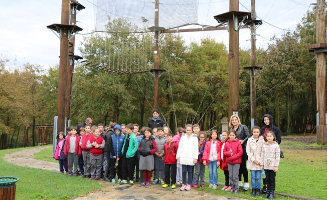 Macera Park 250 öğrenciyi ağırladı
