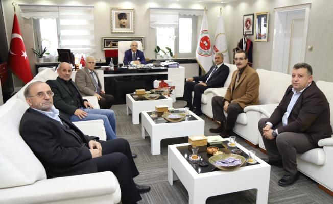 Zeki Sürer'den Cumhuriyet Başsavcısı Lütfi Dursun'a ziyaret