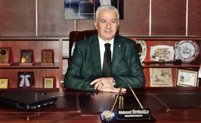 Karasu Bld. Başkanı Mehmet İSPİROĞLU'nun Yeni Yıl Mesajı