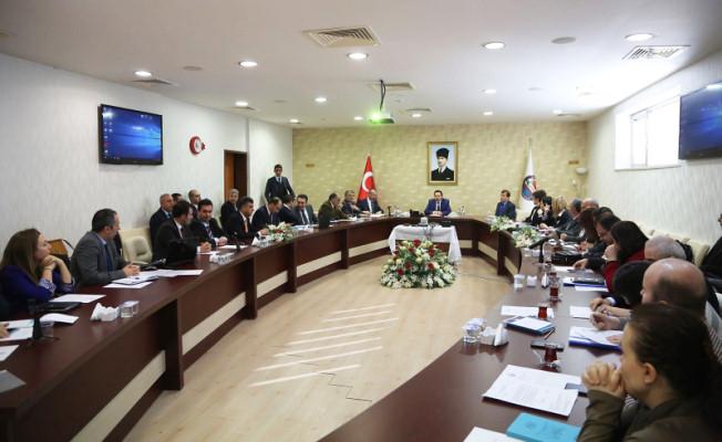 Vali Balkanlıoğlu Sakarya Havzası Havza Yönetim Heyeti Toplantısına Başkanlık Etti