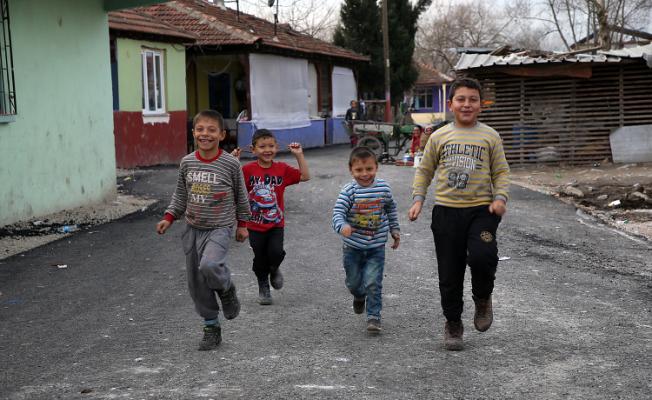 Karaköy'de yüzler gülüyor