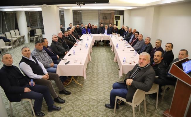 Sakarya 15 Temmuz Demokrasi Derneği'nden 2018'in ilk toplantısı