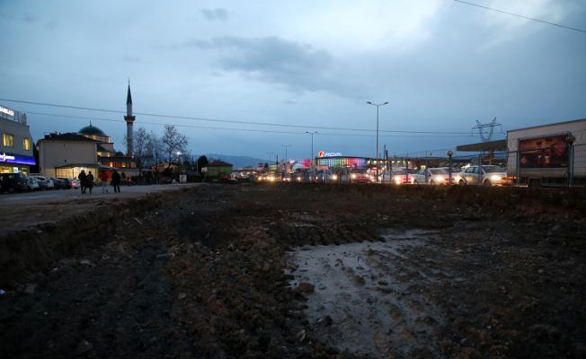 TOPÇA Köprülü Kavşak'ta çalışmalar başladı