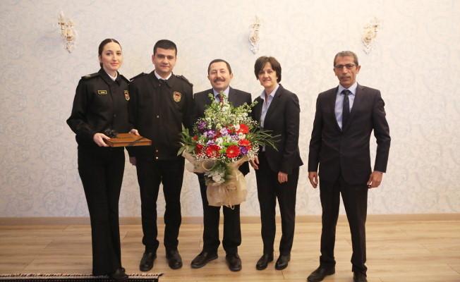 "Vali Balkanlıoğlu'na ""Dünya Gümrük Günü"" Ziyareti"
