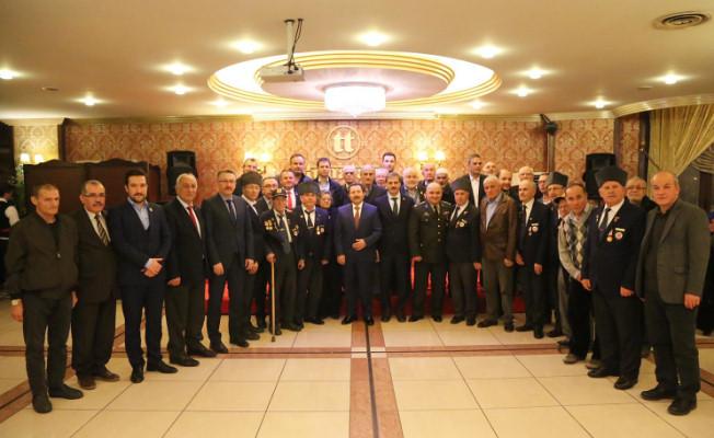 """Balkanlıoğlu, """"Başımızın Tacı Şehit Aileleri ve Gazilerimizin Her Zaman Emrindeyiz"""""""