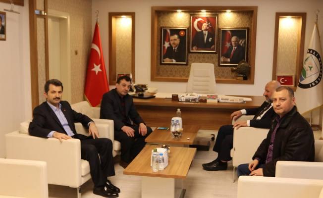 Başhekim 'den Başkan Acar'a ziyaret