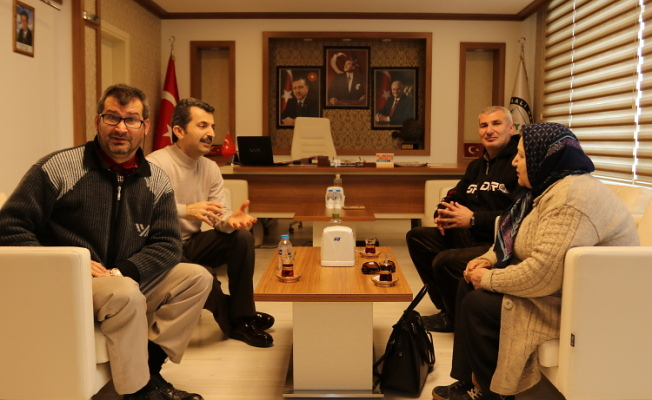 Kortan ve Koray'dan Başkan'a ziyaret