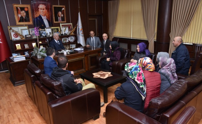 Şehit Oktay Demirci Okulundan İspiroğlu'na Teşekkür Ziyareti