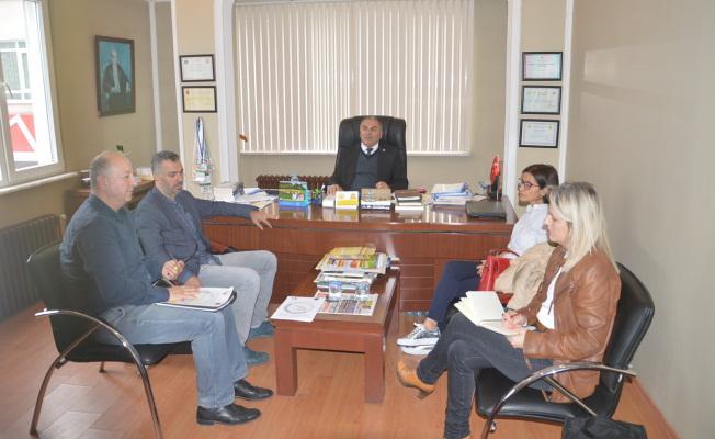 Sakarya Arı Yetiştiricileri Birliği İle Düzce Üniversitesi Arasında Protokol Çalışmaları Başladı.