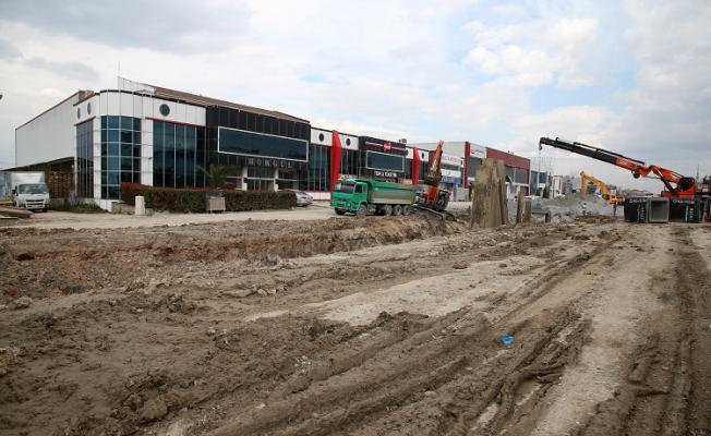 Uluyol Caddesi yenileniyor