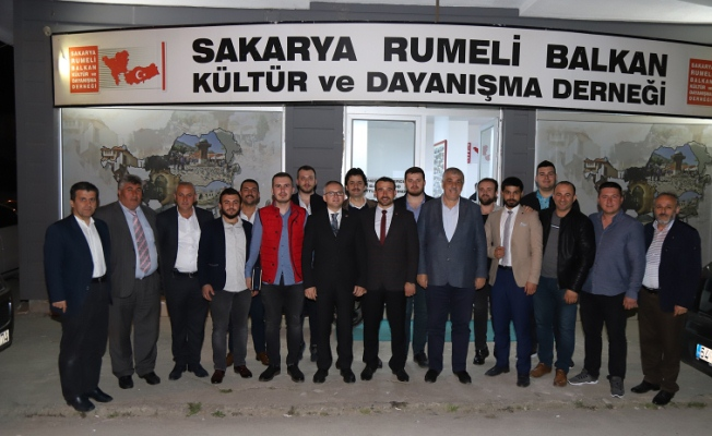 AK Parti, Serdivan Gençlik'ten Rumeli Balkan Derneği'ne ziyaret