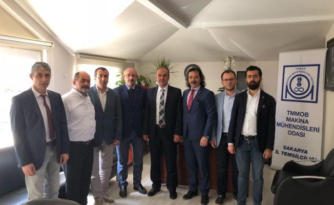 Özcan Keskin ve ekibinden Salim Aydın ve ekibine ziyaret