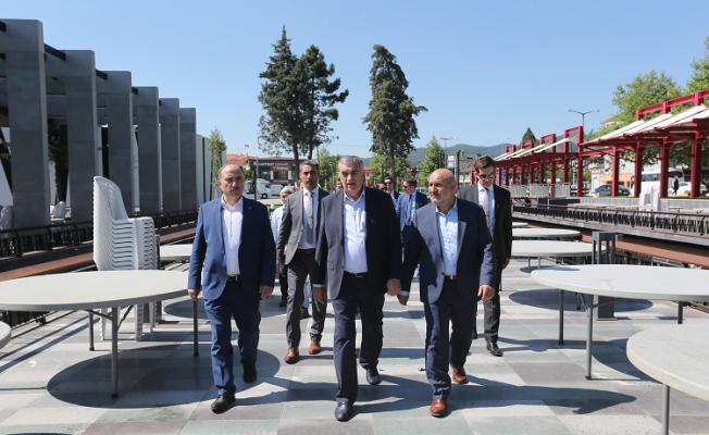 Hendek Atatürk Parkı açılıyor